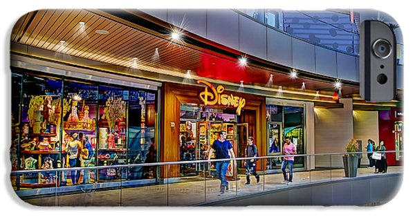 Toy Store Photographs iPhone Cases - Disney Store iPhone Case by Chuck Staley