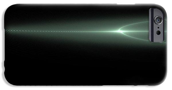 John Stewart iPhone Cases - Distant Light iPhone Case by John Norman Stewart