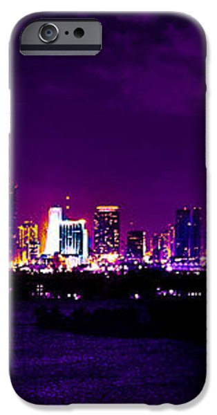 Distant Lights iPhone Case by Michael Guirguis