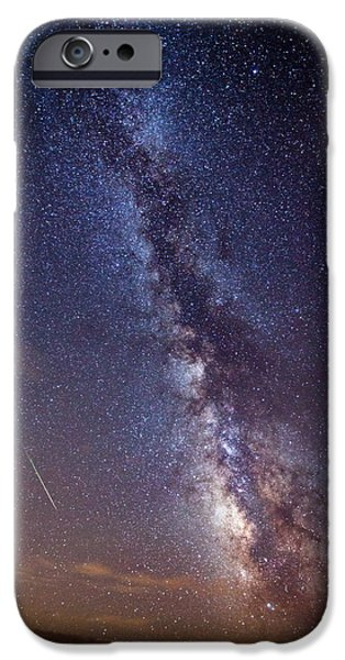 Darren iPhone Cases - Distant Visitors iPhone Case by Darren  White