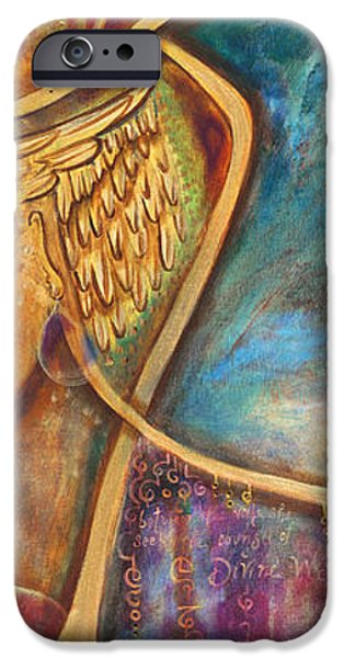 Divine Wisdom iPhone Case by Shiloh Sophia McCloud