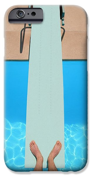 Practise iPhone Cases - Diving Board iPhone Case by Don Hammond