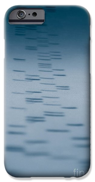 Sanger iPhone Cases - Dna Sequencing iPhone Case by Scott Camazine