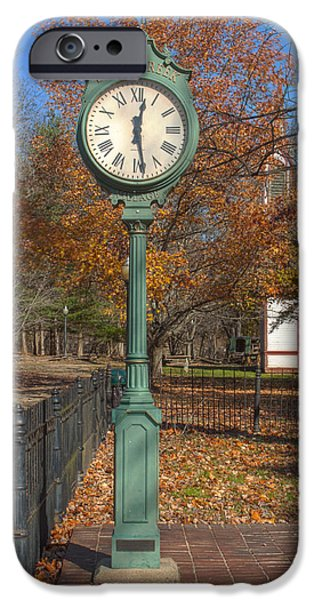 Billie Creek iPhone Cases - Do You Have The Time iPhone Case by Thomas Sellberg