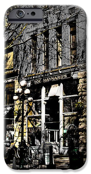 Doc Maynards and the Underground Tour - Seattle Washington iPhone Case by David Patterson