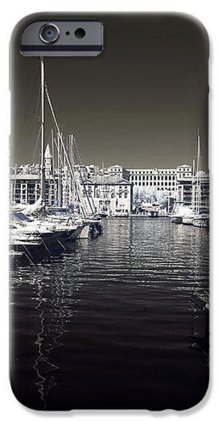 Dock in the Port iPhone Case by John Rizzuto