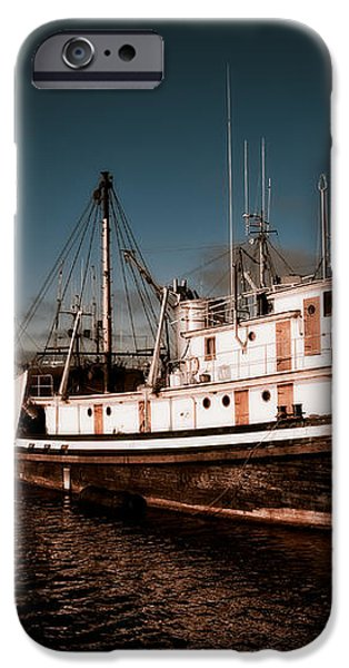 Docked for the Day iPhone Case by Venetta Archer