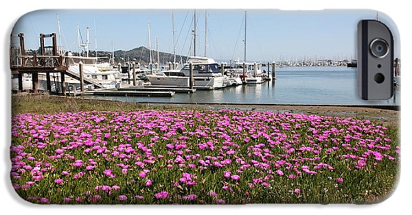 Sausalito iPhone Cases - Docks at Sausalito California 5D22695 iPhone Case by Wingsdomain Art and Photography