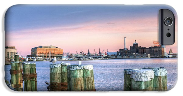 Chesapeake iPhone Cases - Dockside iPhone Case by JC Findley