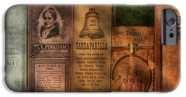 Miracle iPhone Cases - Doctor - Compound Extracts and Sarsaparilla iPhone Case by Mike Savad
