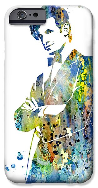 Doctor iPhone Cases - Doctor Who 2 iPhone Case by Luke and Slavi