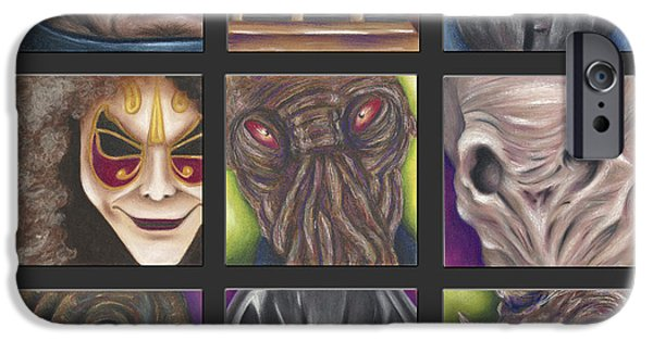 Science Fiction Pastels iPhone Cases - Doctor Who - Losers iPhone Case by Connie Mobley Johns