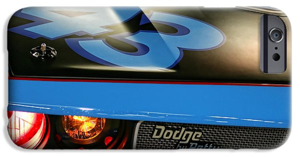 Indy Car iPhone Cases - Dodge By Petty iPhone Case by Gordon Dean II