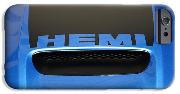 2007 iPhone Cases - Dodge Charger Hemi iPhone Case by Paul Ward