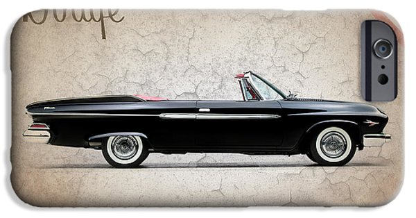 Hemi iPhone Cases - Dodge Dart D 500 iPhone Case by Mark Rogan