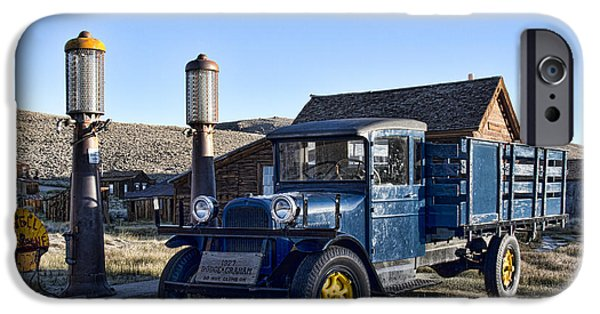 Historic Site iPhone Cases - Dodge Graham Truck iPhone Case by Crystal Nederman