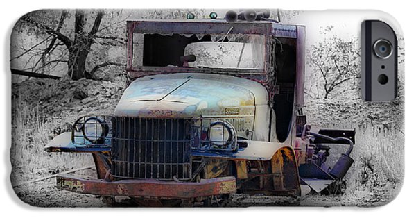 Tow Truck iPhone Cases - Dodge Tow Truck 2 iPhone Case by Cheryl Young