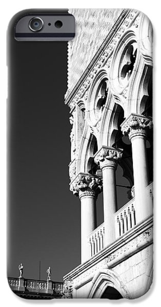 Venetian Balcony iPhone Cases - Doges Palace 2015 iPhone Case by John Rizzuto
