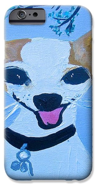 Doggy Time iPhone Case by Marian Griffin