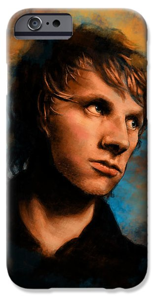 Bassist iPhone Cases - Dom Howard iPhone Case by J England
