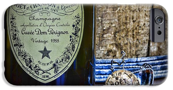 Stopper Photographs iPhone Cases - Dom Perignon It Was a Good Year iPhone Case by Paul Ward