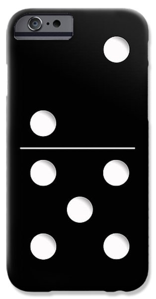 Childhood iPhone Cases - Domino Case iPhone Case by Nicklas Gustafsson