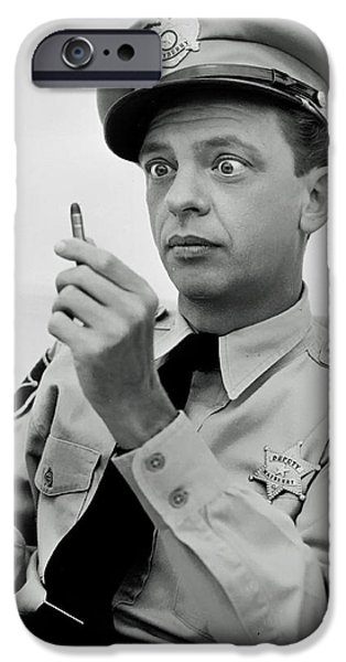 Andy Griffith Show iPhone Cases - Don Knotts iPhone Case by Mountain Dreams