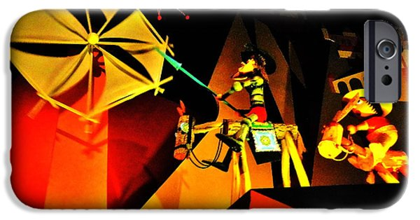 Don Quixote iPhone Cases - Don Quixote Small World iPhone Case by Benjamin Yeager