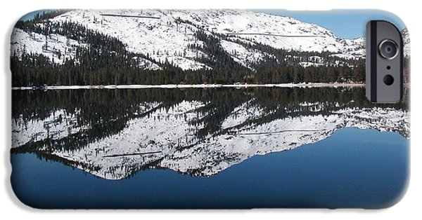 Consumerproduct iPhone Cases - Donner Lake Morning iPhone Case by Mickey Hatt