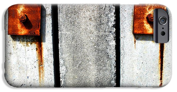 Rusted iPhone Cases - Dont Cry for Me Industrial Decay Series No 006 iPhone Case by Design Turnpike