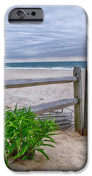 Split Rail Fence iPhone Cases - Dont Fence Me In iPhone Case by Mark Miller