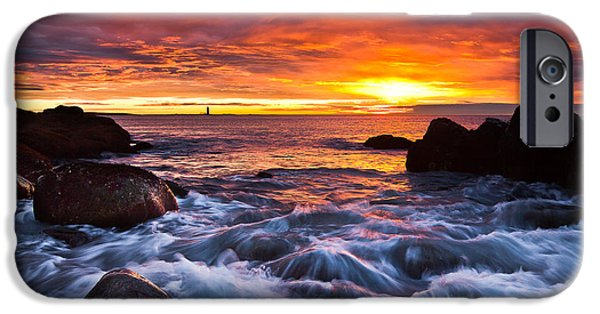 New England Lighthouse iPhone Cases - Dont Forget iPhone Case by Benjamin Williamson