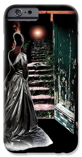 Miracle iPhone Cases - Door of Opportunity iPhone Case by Pennie  McCracken