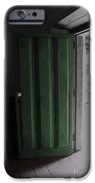 Doors Open iPhone Case by Cheryl Young