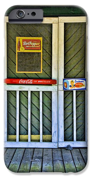 Doorway To The Past iPhone Case by Kenny Francis