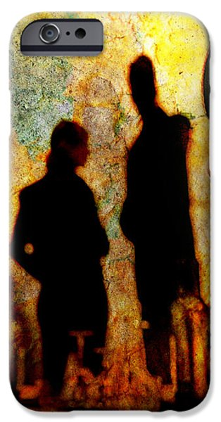 Doppelganger iPhone Case by Chuck Staley