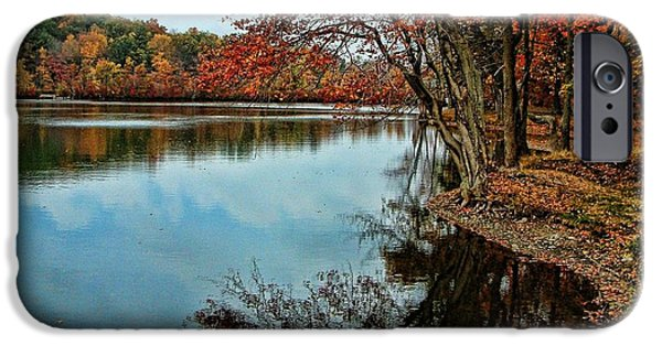 Millbury iPhone Cases - Dorothy Pond Millbury MA iPhone Case by Mike McCool