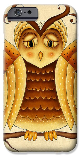 Hattiesburg iPhone Cases - Dottie iPhone Case by Brenda Bryant