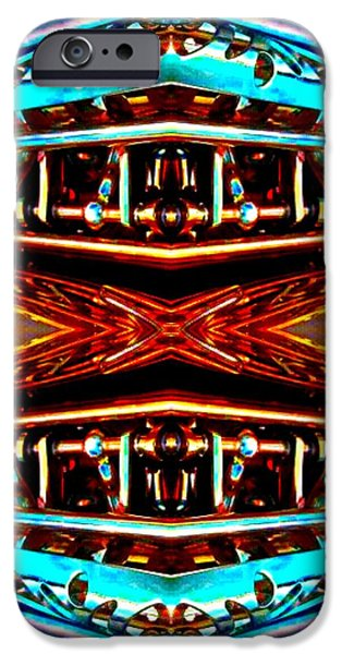 Socal Mixed Media iPhone Cases - Double Mezzanine  iPhone Case by Romy Galicia