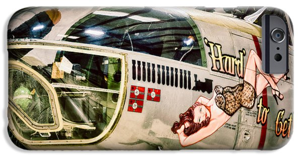 North American Aviation iPhone Cases - Douglas A-26C Invader iPhone Case by Inge Johnsson