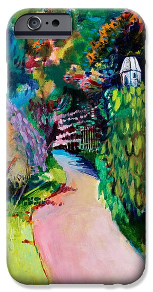 Pathway iPhone Cases - Dovecote  Exotic iPhone Case by Marco Cazzulini