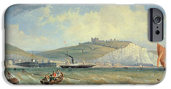 Sea iPhone Cases - Dover, 19th Century iPhone Case by William Henry Prior