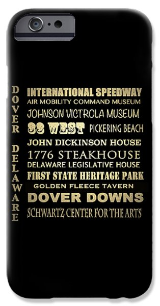 Schwartz Digital iPhone Cases - Dover iPhone Case by Patricia Lintner