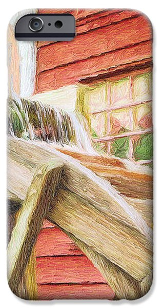 Down by the Old Mill iPhone Case by Jeff Kolker