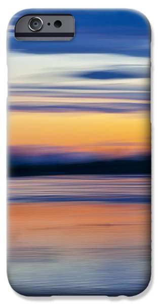 DOWN BY THE RIVER iPhone Case by Theresa Tahara