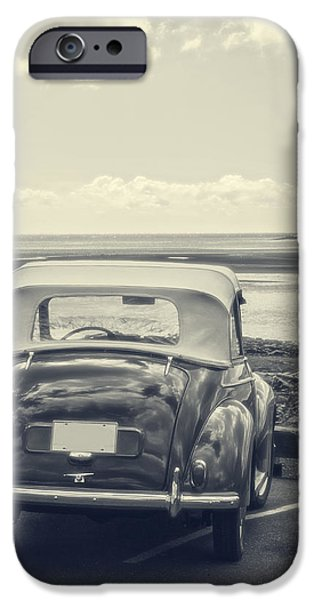 Fielding iPhone Cases - Down by the shore iPhone Case by Edward Fielding
