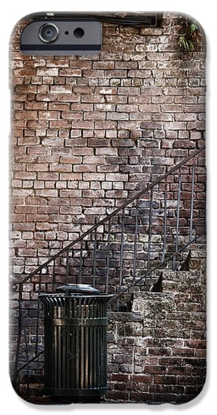 Walls iPhone Cases - Down in the Dumps iPhone Case by Margie Hurwich