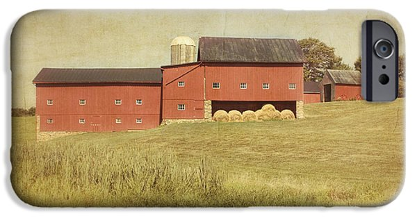 Shed iPhone Cases - Down on the Farm iPhone Case by Kim Hojnacki