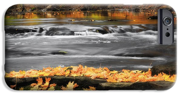 Reflections In River iPhone Cases - Down On The River iPhone Case by Bill  Wakeley