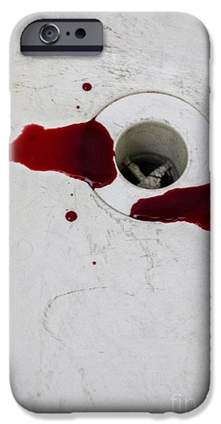 Dirty iPhone Cases - Down the Drain iPhone Case by Margie Hurwich